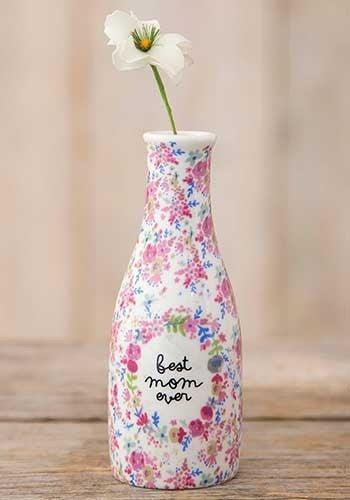 Best Mom Ever Bud Vase