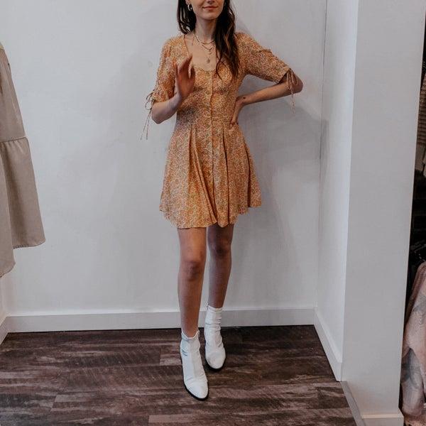 Laced Up Mini Dress