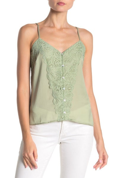 Lace Panel Camisole