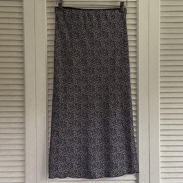 White Dotted Skirt