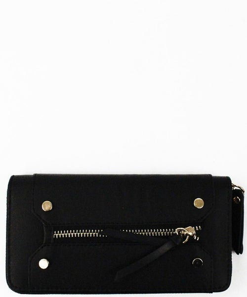 Black Terry Wallet