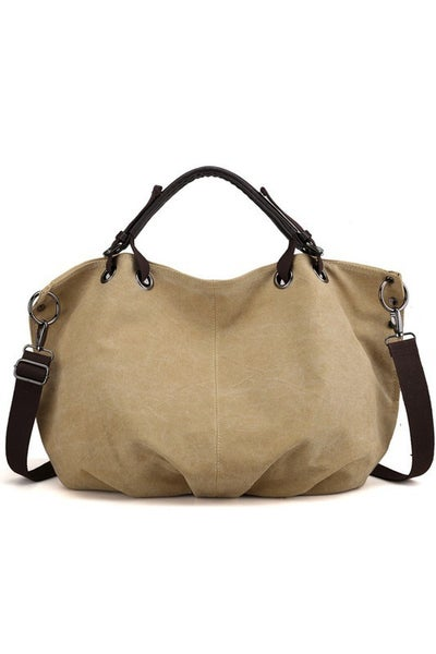 Double Strap Canvas Bag