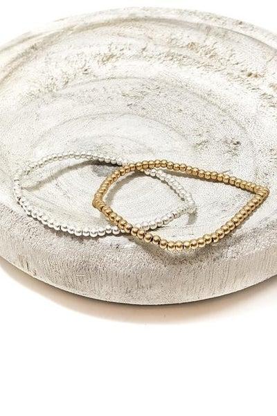 Elastic Small Beads Bracelet