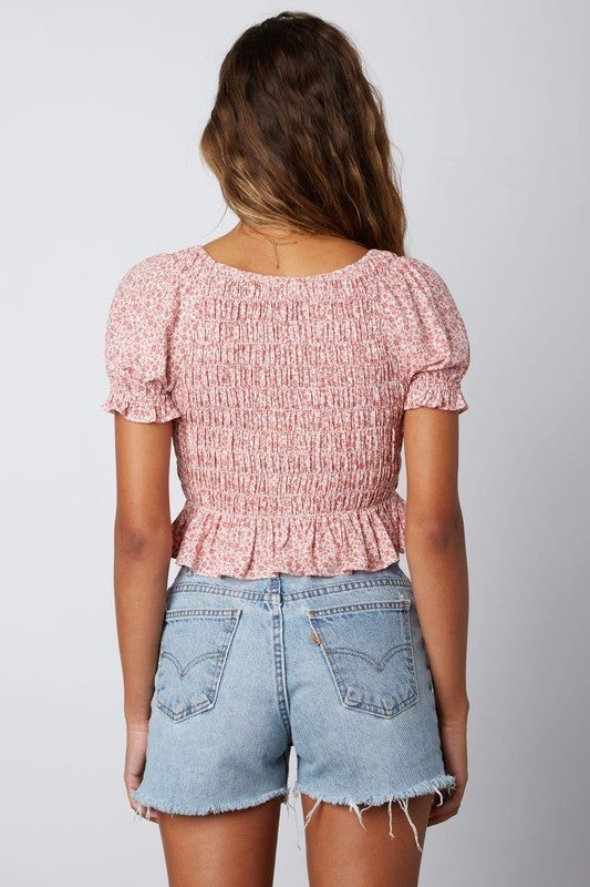 Woodrose  Crop Top