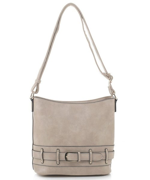 Fashion Belted Crossbody