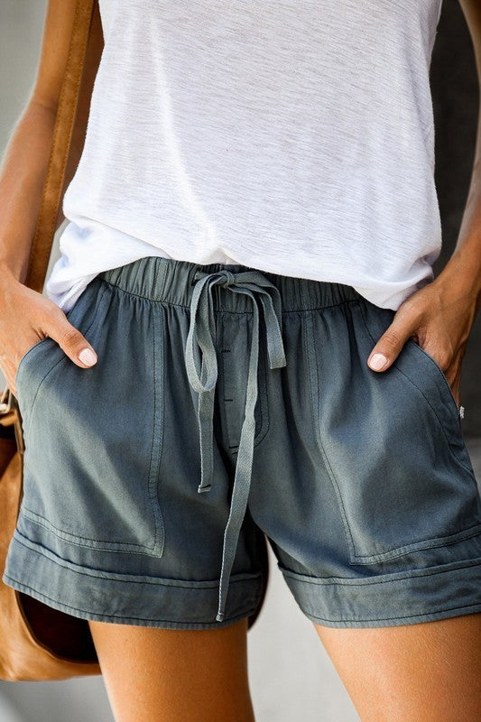Casual Drawstring Shorts *Final Sale*
