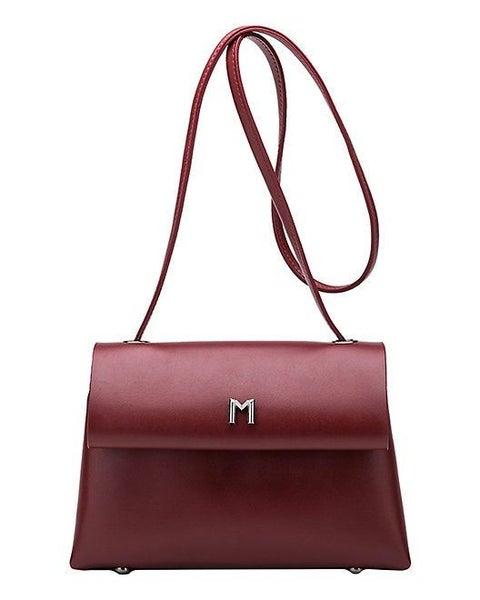 Riley Burgundy Handbag