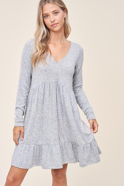Hacci Brushed Dress