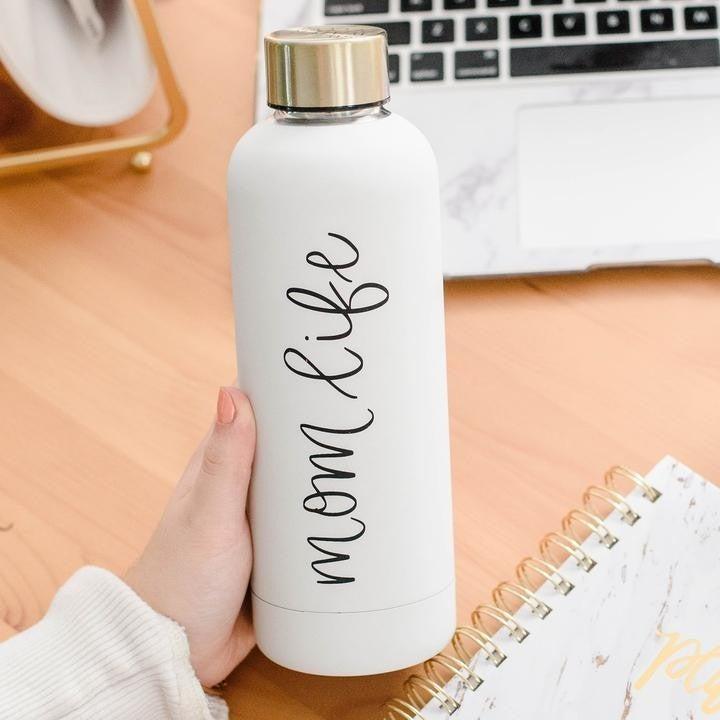 Mom LifeMetal Water Bottle