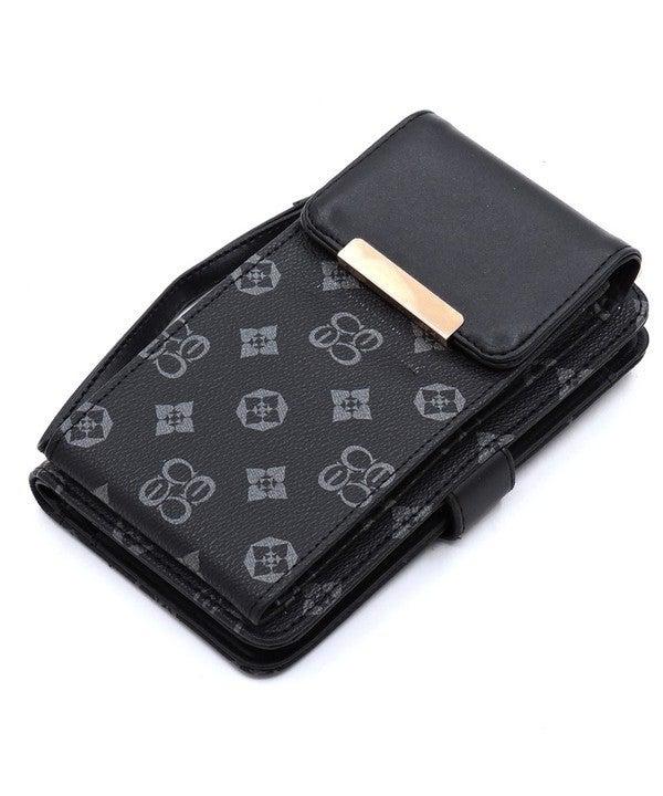 Monogram Crossbody Cell Phone Case