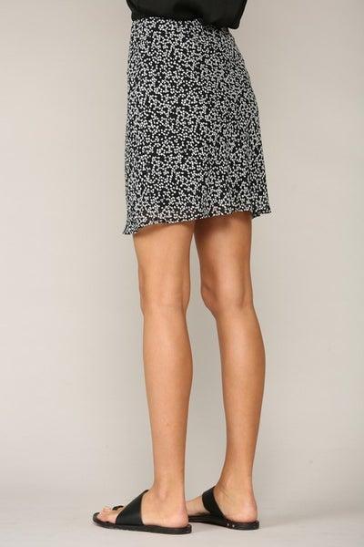 Poly Crepe Chiffon Skirt
