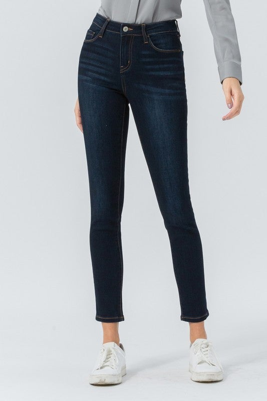 Mid Rise Soft Ankle Skinny
