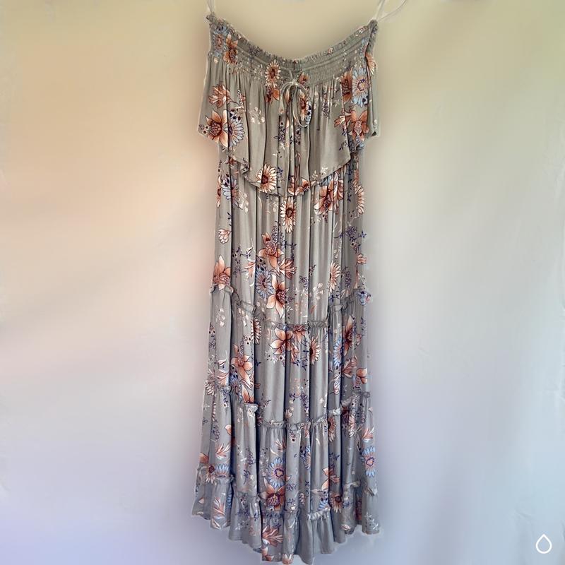 Strapless Midi Sundress *Final Sale*