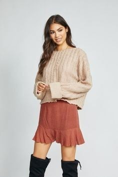 Like a  Dream Knit Top