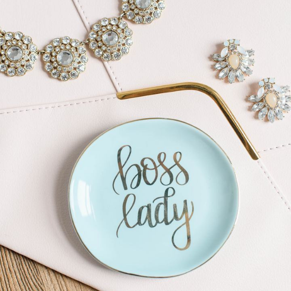 Mint Boss Lady Jewelry Dish
