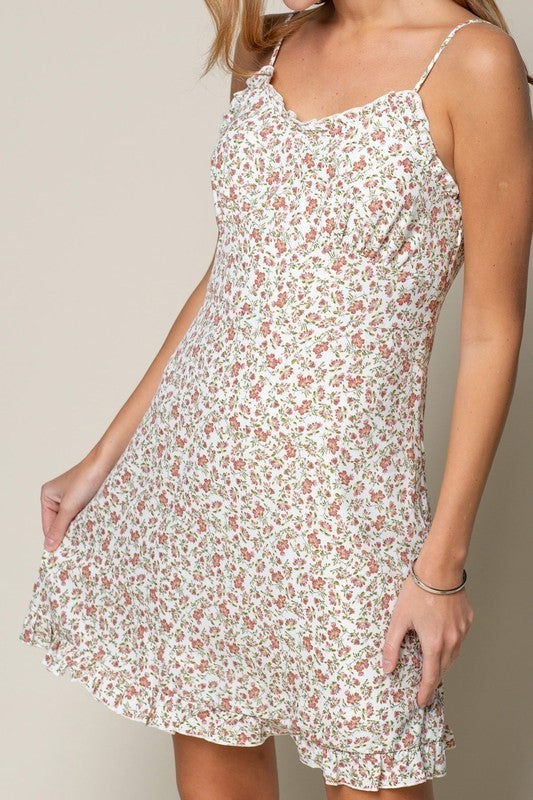 Ditzy Floral Print Dress