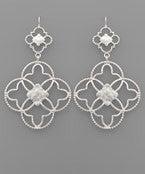 Quaterfoil Clover Earrings