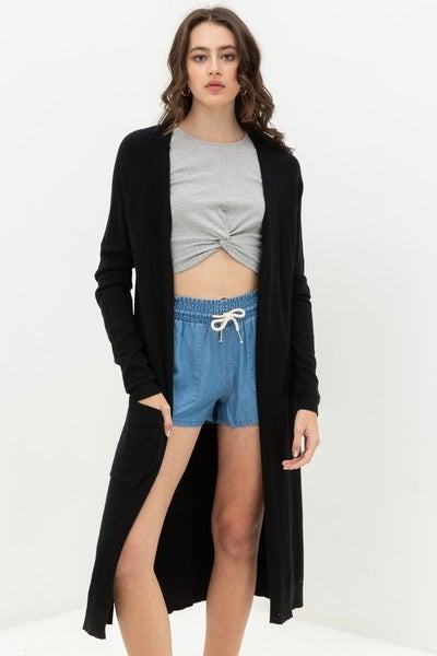 Duster Cardigan Sweater