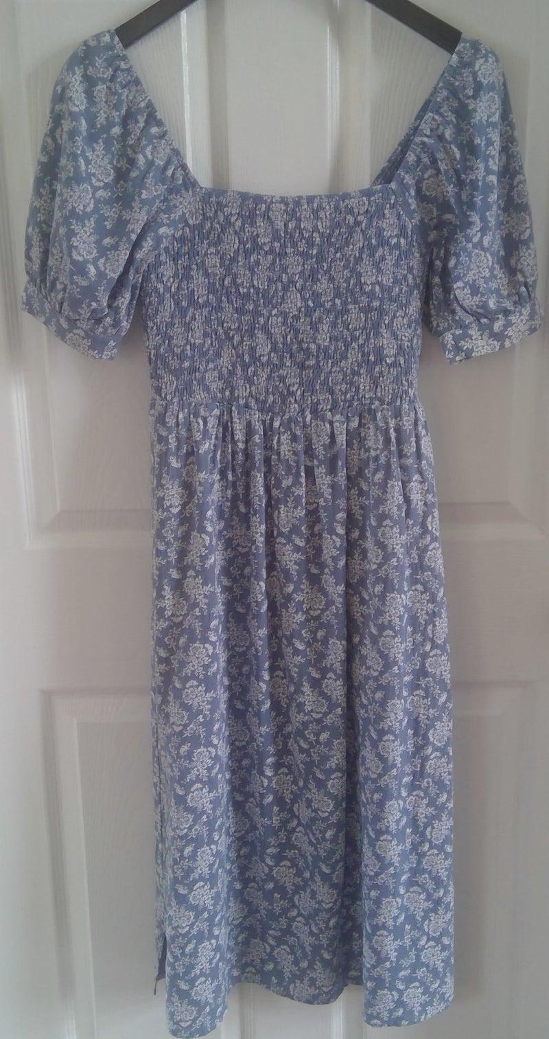 Blue Floral Sundress *Final Sale*