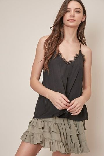 Lacey V-Neck Tank Top