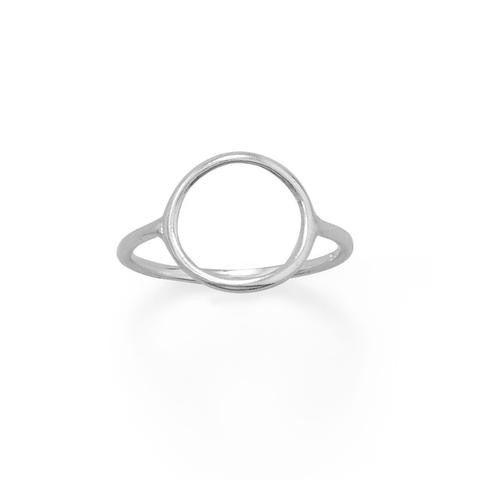Precious Open Circle Ring