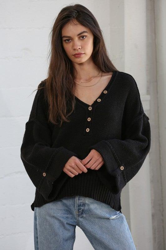 Milo Inside Out Sweater