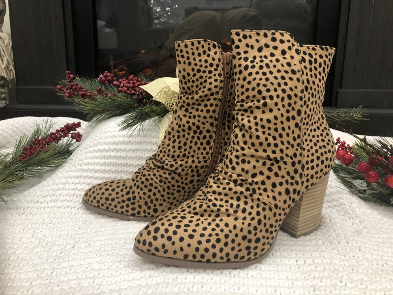 Leopard Booties *Final Sale*