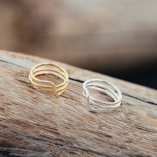 Silver Witty Rings