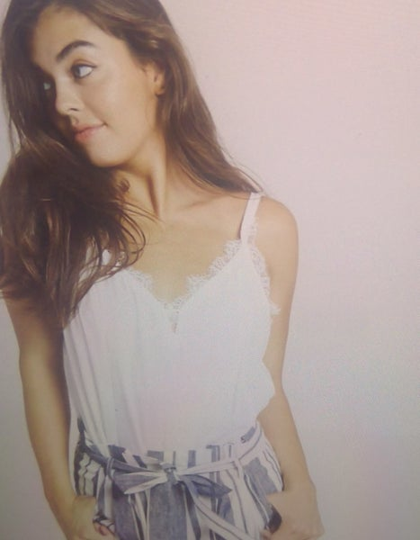 White Lace Cami *Final Sale*