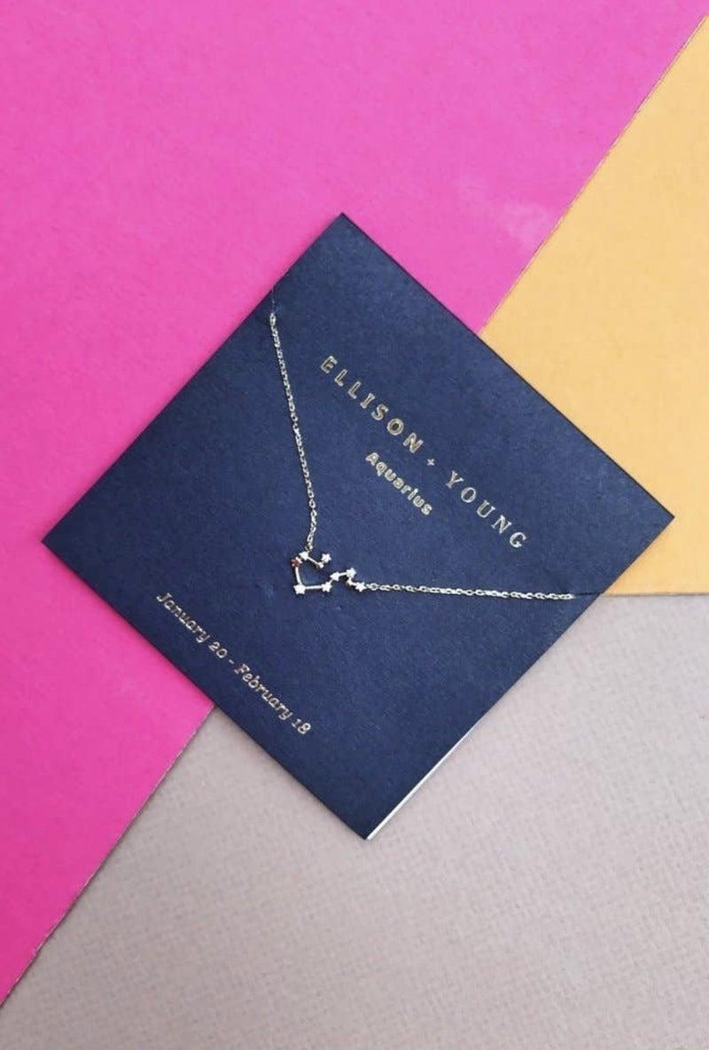 Zodiac Constellation Necklace