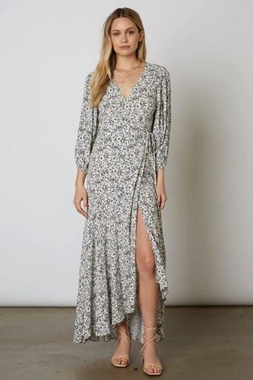 Floral Maxi Wrap Dress *Final Sale*