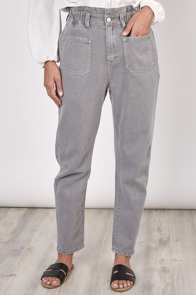 Grey jogger Pants with Pockets