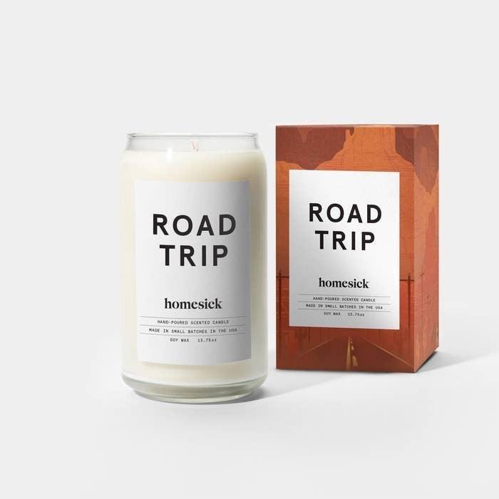 Roadtrip Candle