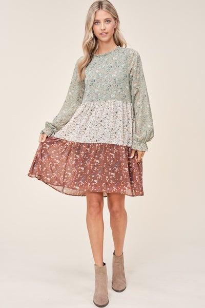 Ditsy Print Dress *Final Sale*