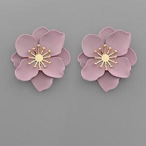 8 Petal Blossom Studs
