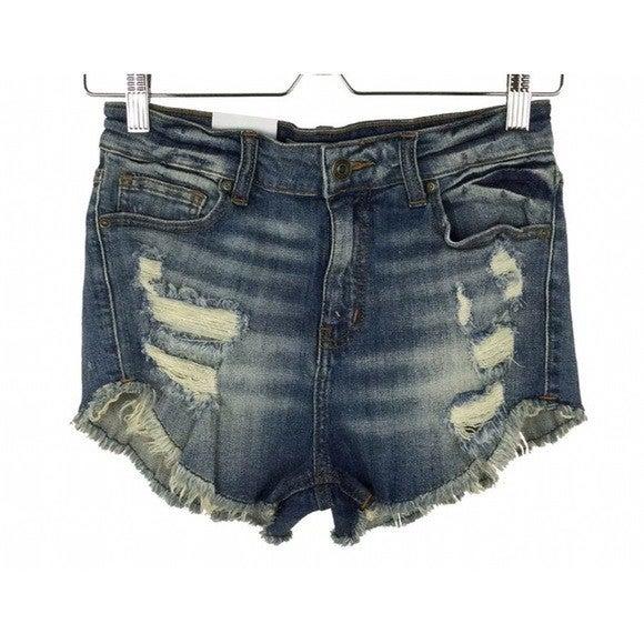 High Rise Cut Off Shorts