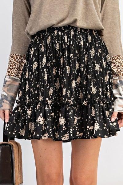 Black Clueless Mini Skirt