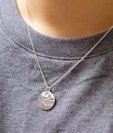 Family Disc Necklace