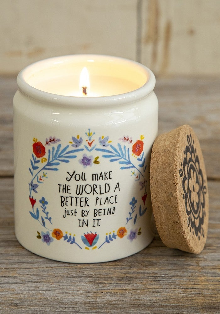 Corked Candles