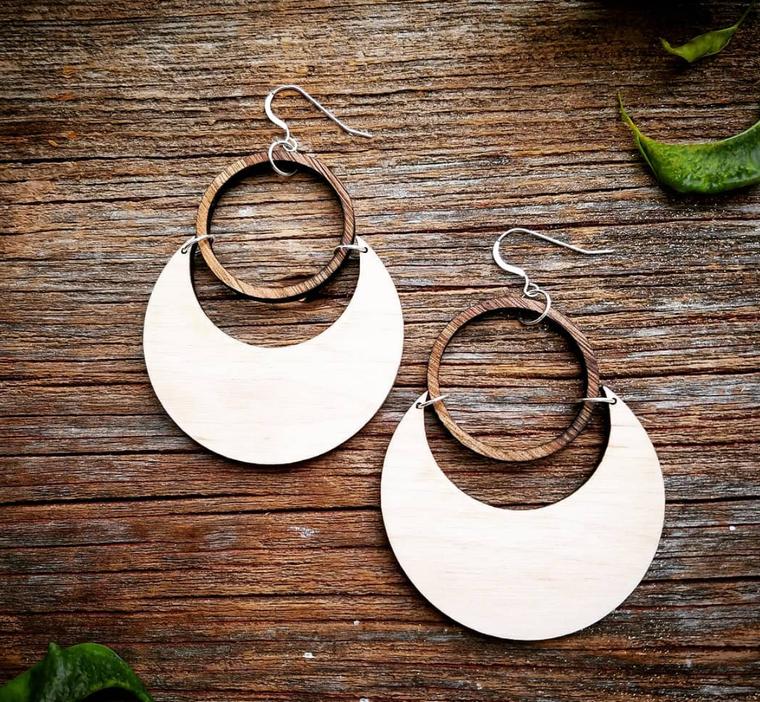 Super Moon Eclipse Earrings