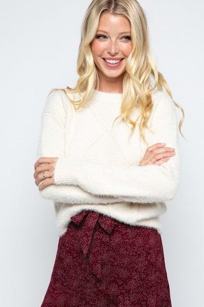 Bailey Eyelash Sweater