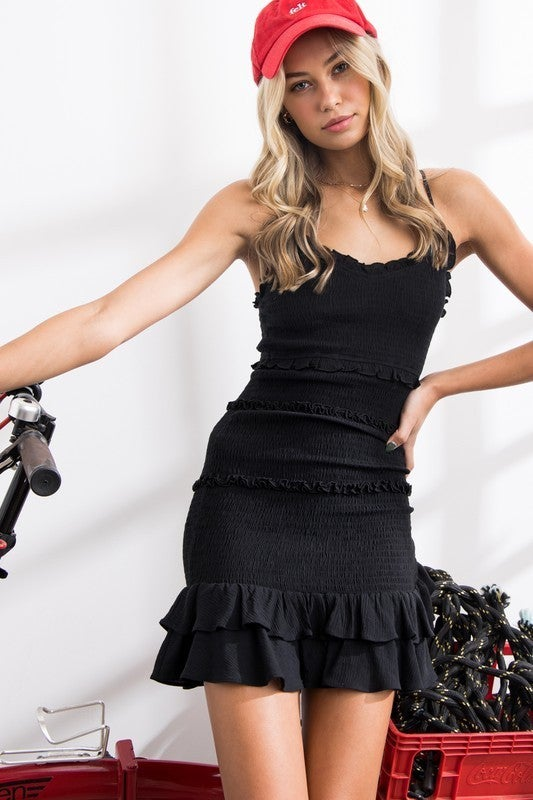 Lily Smocking Ruffle Dress