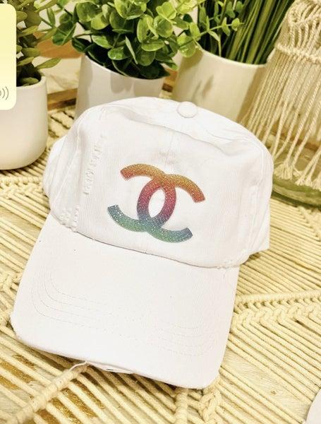 Bling Messy Bun Hat