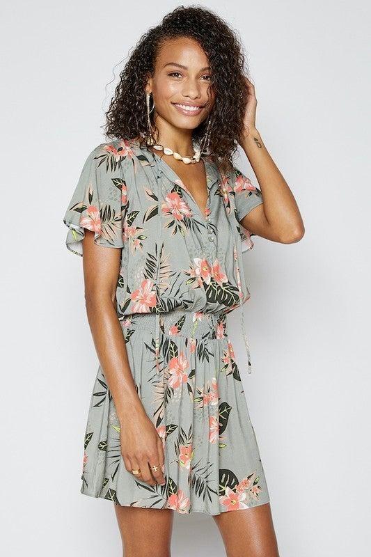 Tropical Love Dress *Final Sale*