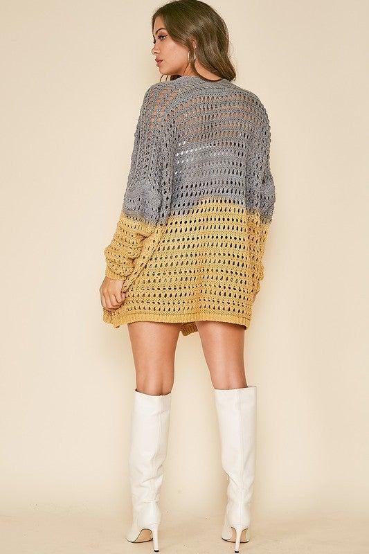 Tie-Dye Print Sweater
