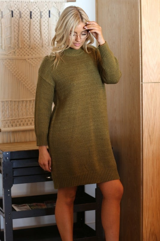 Sweater Dress *Final Sale*