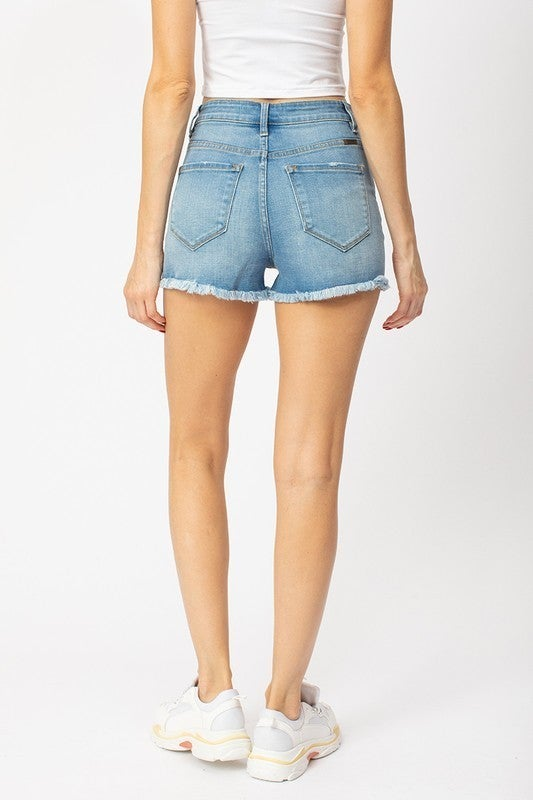 High Rise Mom Shorts
