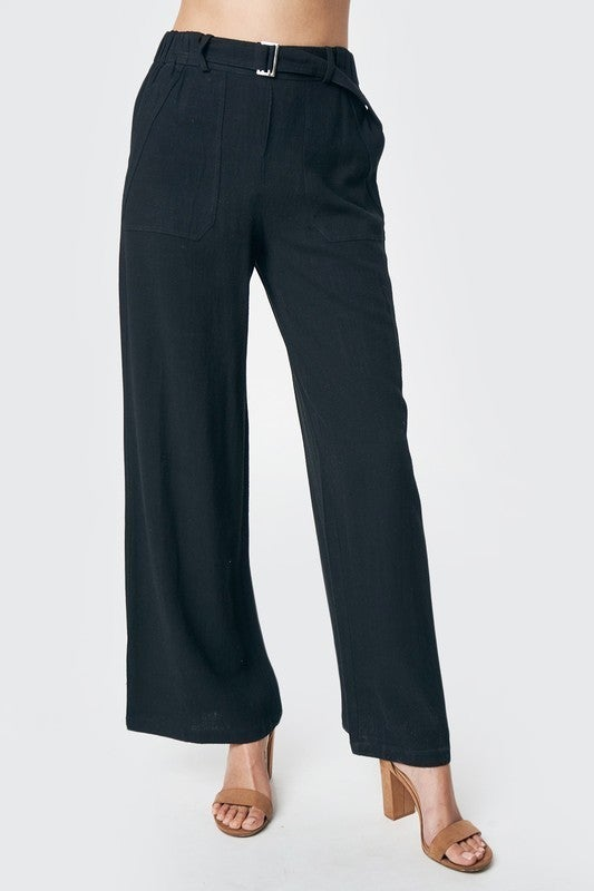 Bossy Wide Leg Pants