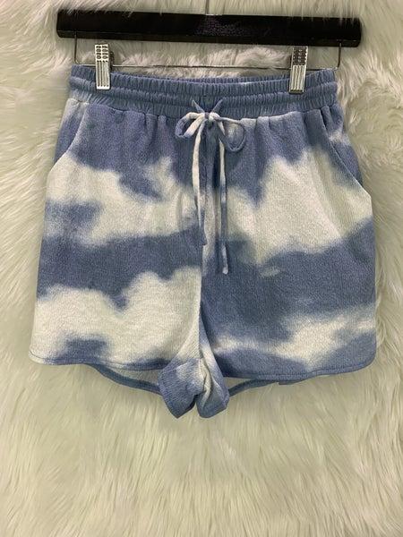 Cloud Tie Dye Shorts