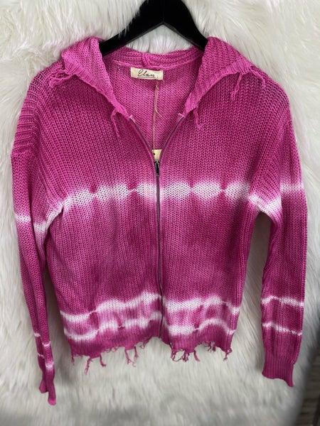 Elan Tie Dye Zip Sweatshirt